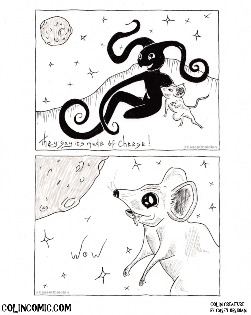 014. The fantastic realisation that Moon starts with Moo