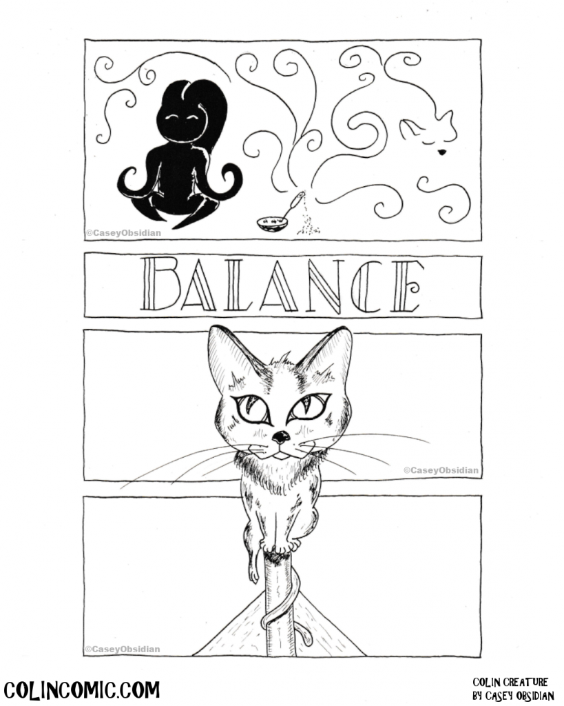 033. Balance in all things, even in balance